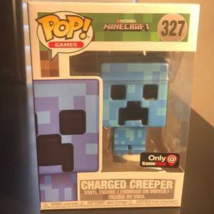 Funko POP 327 Charged Creeper-Minecraft